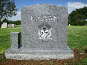 Brother Adrian Galvan's final resting place.